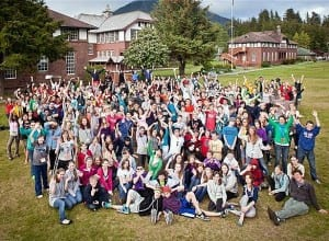 Sitka Fine Arts Camp students in 2011. (Photo by Clark Mishler)