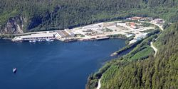 Sawmill Cove Industrial Park in Sitka.