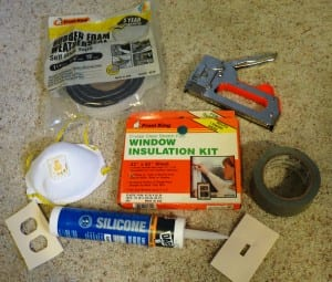 Home energy improvement supplies and tools.