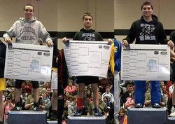 MEHS, Sitka wrestlers win three state titles