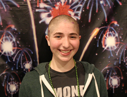 Sitka girl, 15, shaves head for childhood cancer research