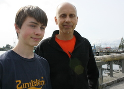 Sitka father, son plan Lower 48 run against GMOs
