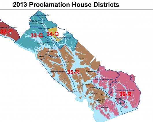 The final redistricting map for Southeast was released July 14th. It shuffles boundaries used in the 2012 election.