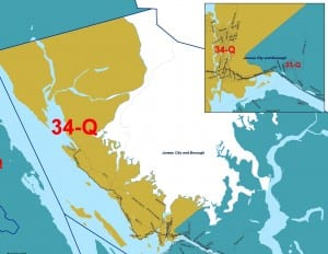 The new House District 34, which includes Juneau's Mendenhall Valley, Auke Bay and neighborhoods to the north.