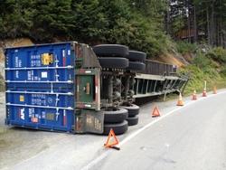 Police investigating truck accident in Sitka