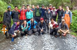 In water, forest, and lab Stanford 'SoCo' examines Alaska's natural systems