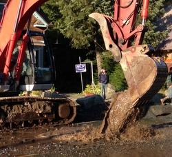 Update: Road re-opened, but more repairs ahead