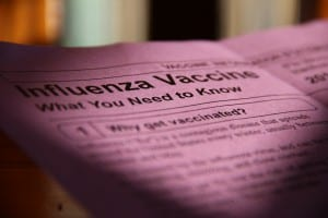 State public health centers are encouraging everyone to get a flu vaccine this fall.
