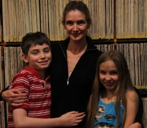 9-year-old Hunter Lambdin will travel to Providence, R.I. to audition for America's Got Talent, accompanied by her mother, Stephanie Lambdin, and her brother, Colt.