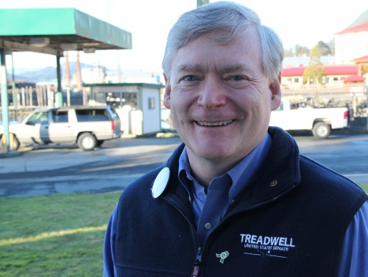 In Sitka, Lt. Gov Treadwell talks Senate run