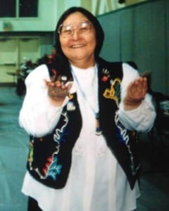 Vida Davis played a vital role in Tlingit language revitalization in Sitka. (photo courtesy of Heather Powell)