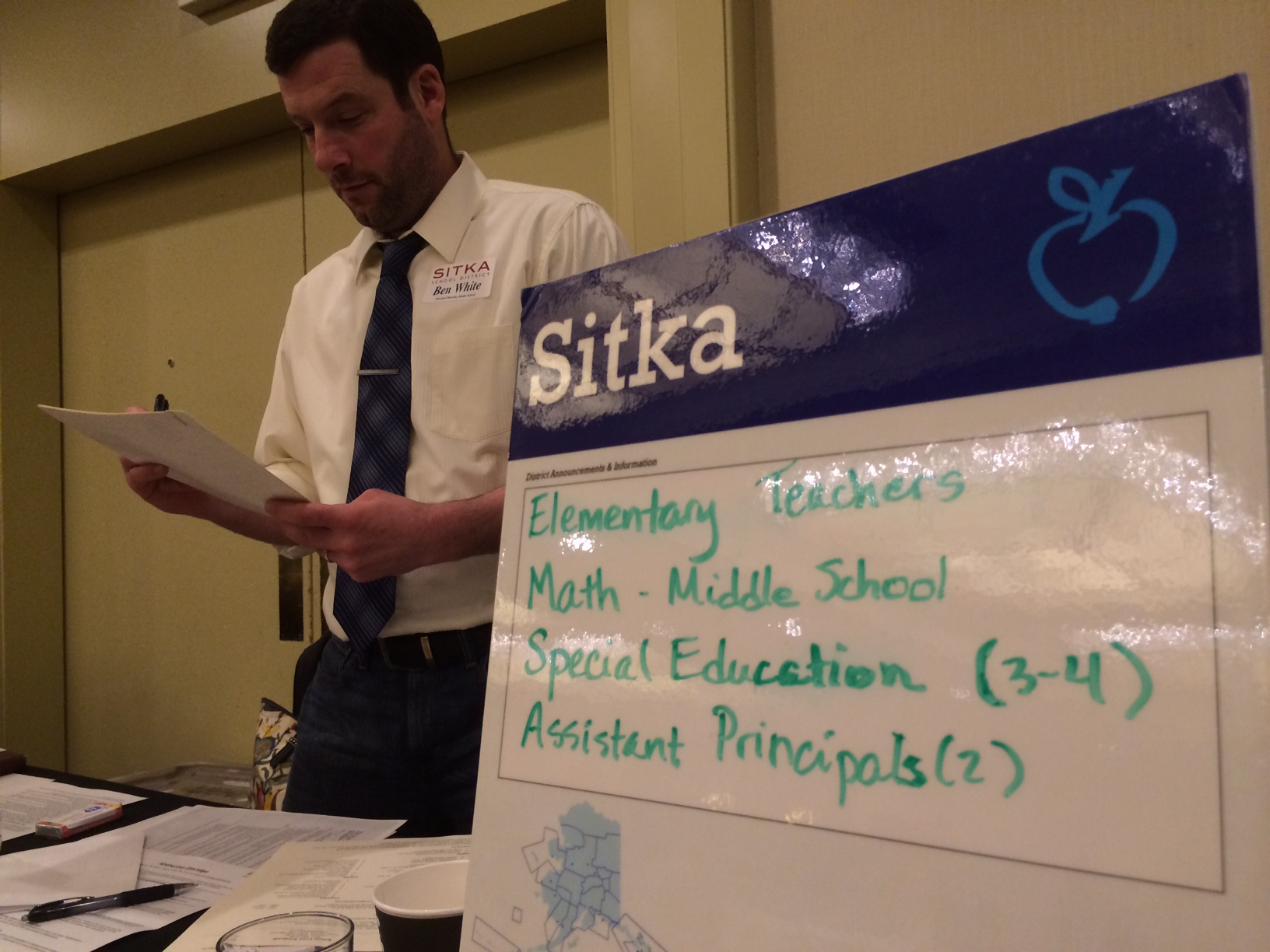 Sitka shops for teachers at Seattle fair