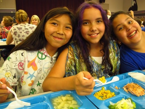 According to SCS, participation in school lunch at Keet Gooshi Heen increases on days when local fish is served.