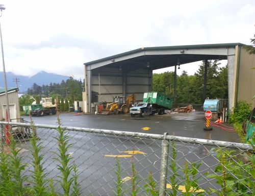 Trashed recycling points to flaws in Sitka's system?