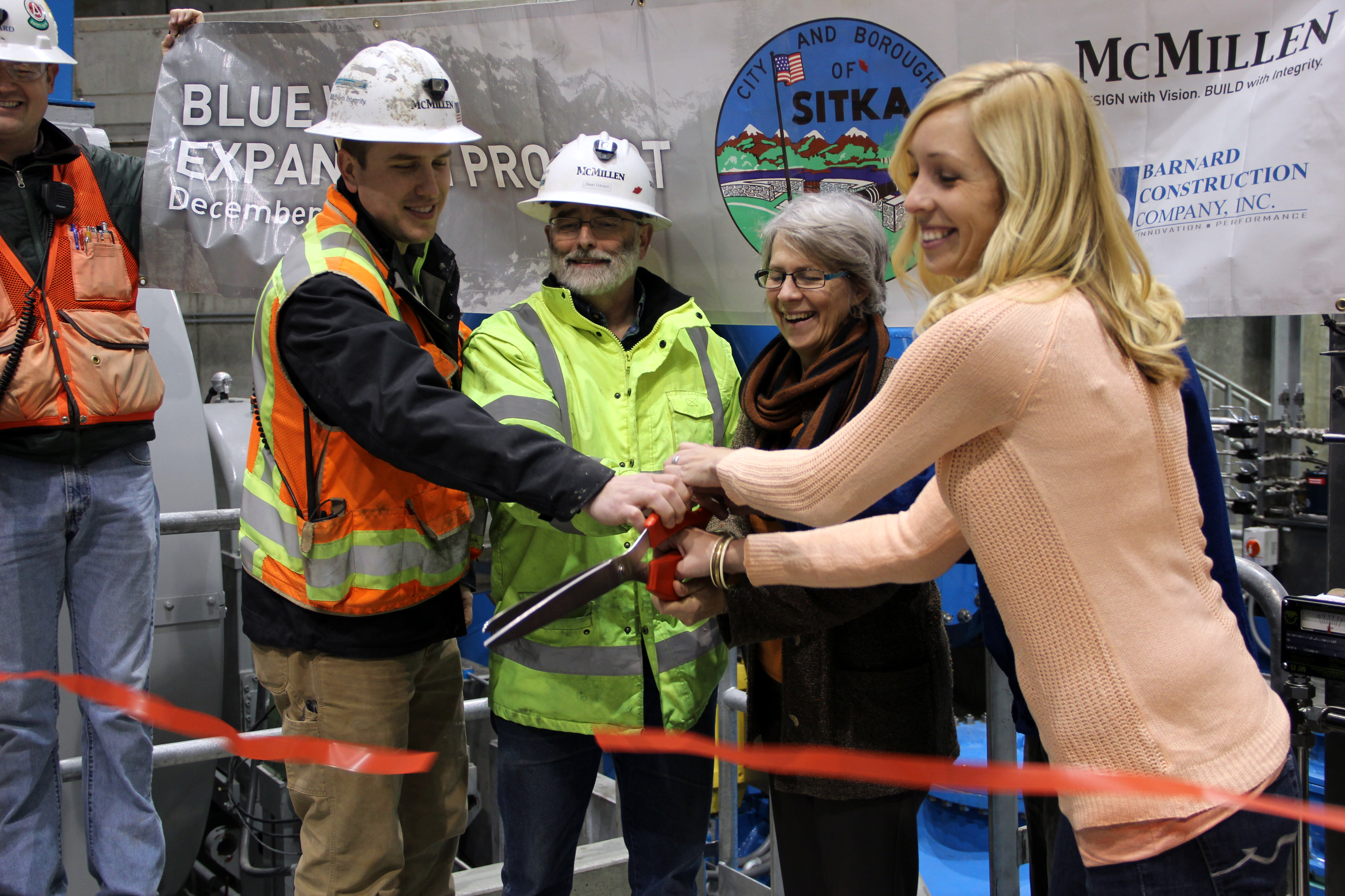 With the snip of a ribbon, Blue Lake project is complete