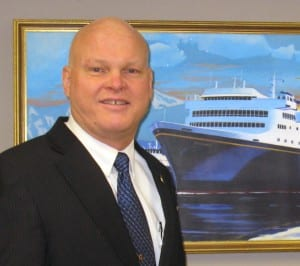 Capt. Mike Neussl is the state Department of Transportation's new deputy commissioner overseeing ferries. (Courtesy AMHS)