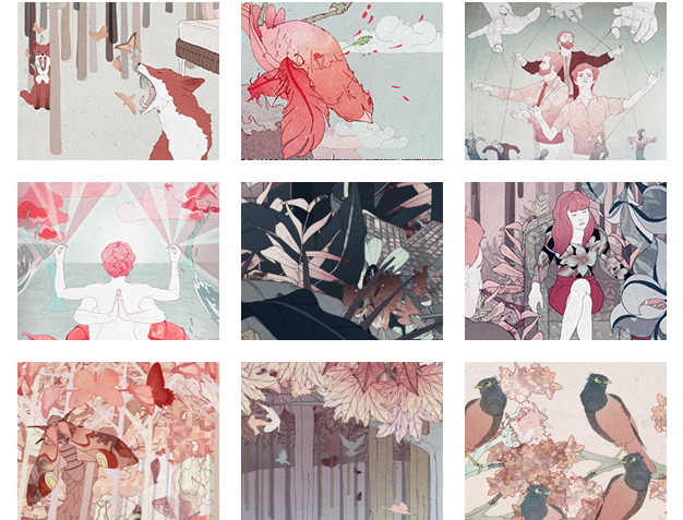 Walking through dreamscapes with illustrator Ramona Ring