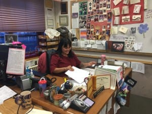 Teacher Dionne Brady-Howard is worried about how the loss of Edgecumbe would affect young Alaskans (Emily Kwong/KCAW photo)
