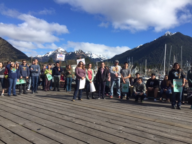 Sitka rallies for respect