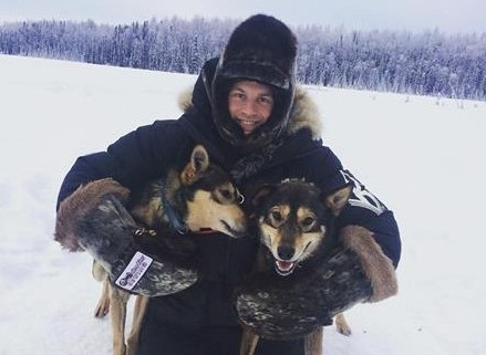 Iditarod champ sports Sitka gear