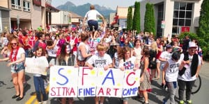 The Sitka Fine Arts Camp is offers numerous programs for students from around the country. Photo provided by SFAC.