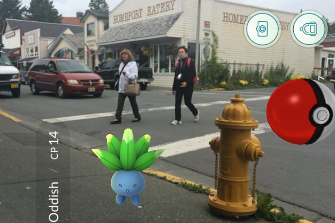 Pokemon swarm Sitka streets