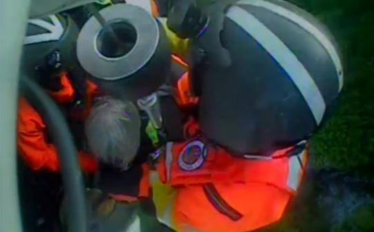 VIDEO: Air crew rescues injured hiker from Mt. Verstovia