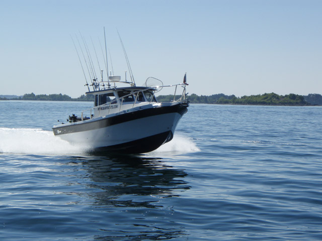 Coast Guard rescues charter fisherman