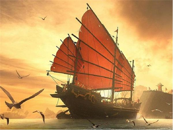 "Hudson says that the surviving vessels of China's epic voyages 1421-1423 were left to ""rot at their moorings,"" and their records destroyed."