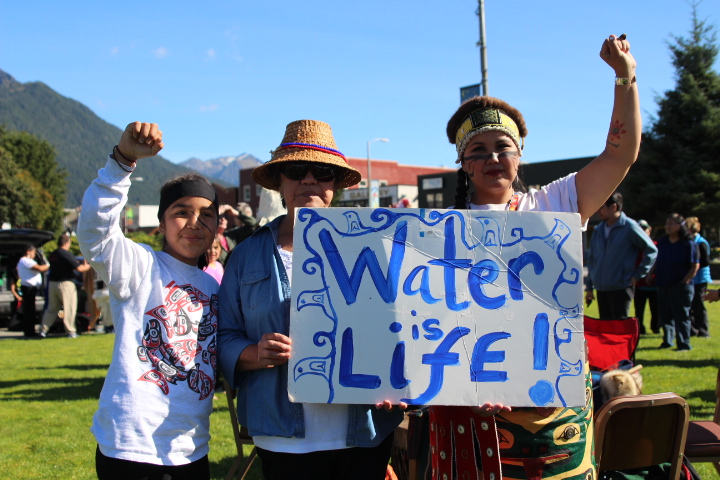 Sitkans join North Dakota pipeline fight