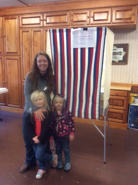 Voters in the villages take to the polls