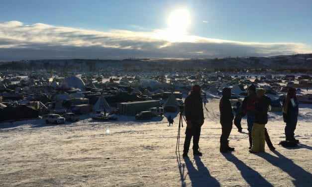 Sitka filmmaker: DAPL protesters will 'see what happens'
