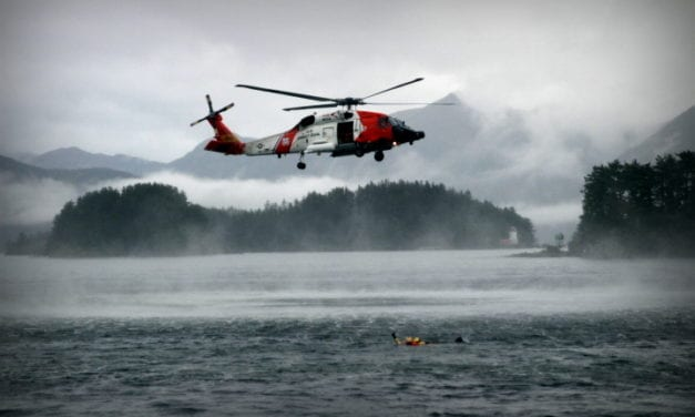 UPDATE: Coast Guard medevacs injured hunter from Pybus Bay