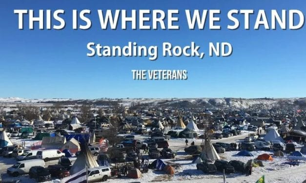 Video: Vets defend Standing Rock with purpose