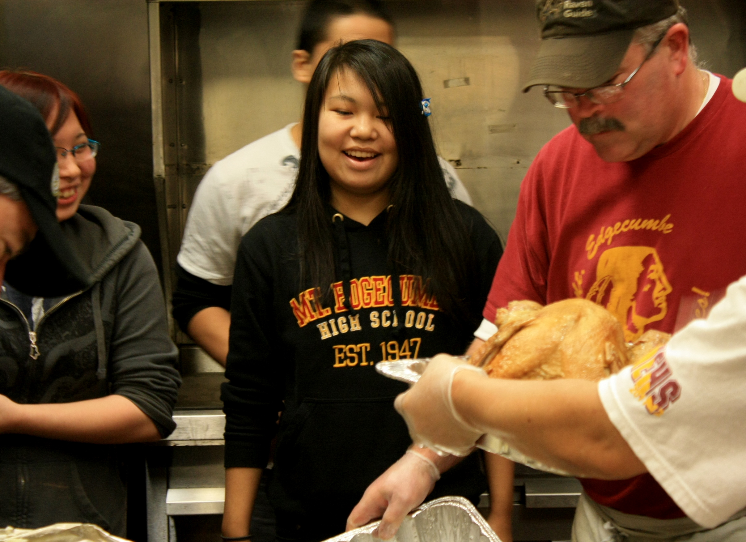 Thanksgiving comes early for Edgecumbe students