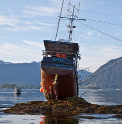 Another troller grounds in Sitka Sound, skipper charged