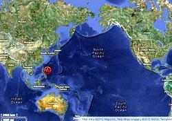 No tsunami, but large quake may affect sea level