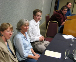 Assembly candidates tested at Chamber forum