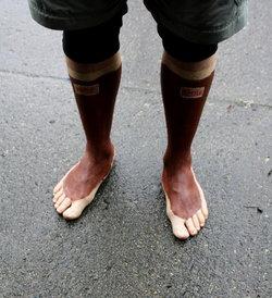 Running of the … feet?