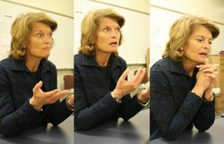 Interview: Murkowski's hourlong session in Sitka