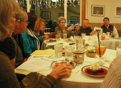 City, Tribal governments share dinner, issues