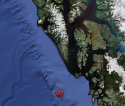 Earthquake rattles Sitka; NO tsunami danger