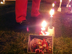 Candlelight vigil for Mackenzie Howard in Sitka