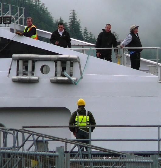Fast ferry Fairweather delays return to service