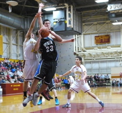 Braves, Lady Wolves advance in 3A tourney