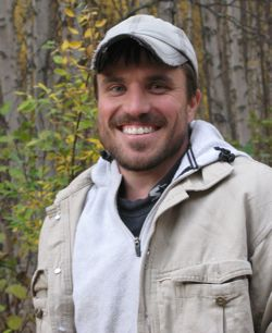 Dr. Todd Brinkman works at the Institute of Arctic Biology in Fairbanks.