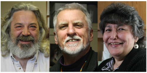 From left, the people we talked to for this story: George House, Charlie Bean and Roberta Kitka.