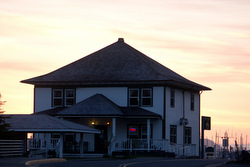 Cable House sunset