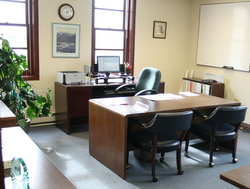Administrator search: Who will sit at this desk?