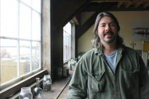 Wyatt Fournier at the Sitka Sound Science Center. (KCAW photo by Ed Ronco)